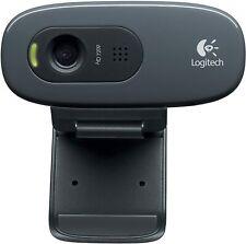 Logitech C270 Webcam (720p Videoqualität) schwarz