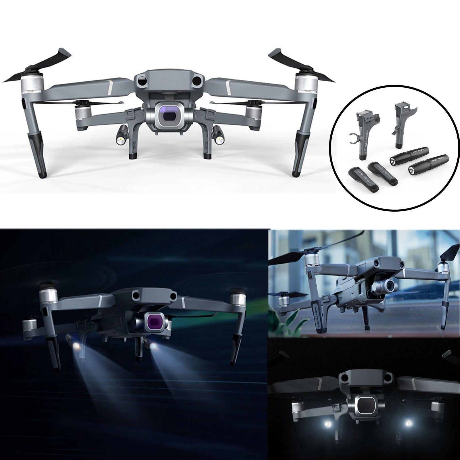 PGYTECH Landing Gear Height Extender Leg &Led Kit For DJI Mavic 2 Pro Zoom Drone