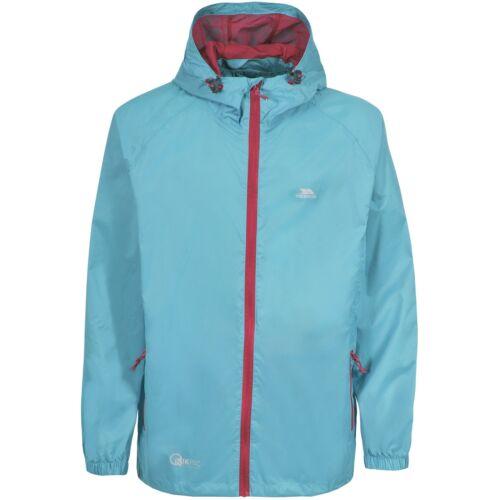TP433 Trespass Adults Mens//Womens Qikpac Packaway Waterproof Jacket//Coat