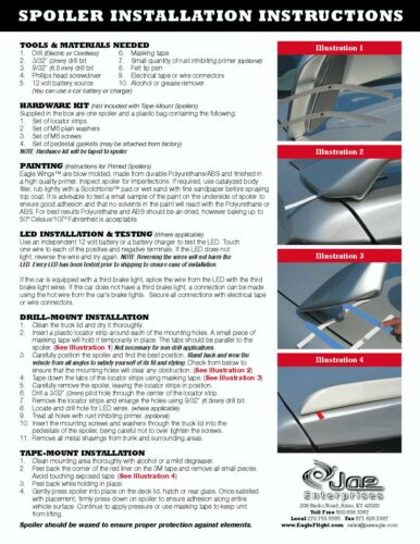 2011-2013 Cadillac CTS Painted Rear Trunk Spoiler Factory Style BRAND NEW