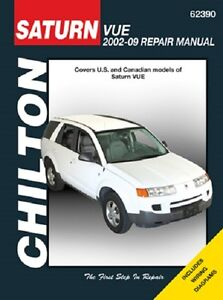 2002 2009 saturn vue chiltons repair service shop workshop manual rh ebay com Workshop Manuals Oilfield Well Testing Ford Workshop Manuals