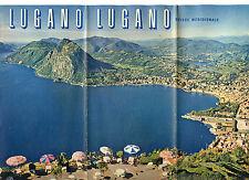 Prospectus-Tourisme : LUGANO, Suisse. Travel Ephemera.