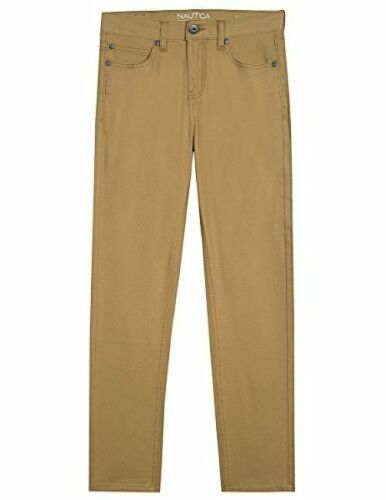 Pick SZ//Color. Nautica Childrens Apparel Big Boys Five Pocket Pant