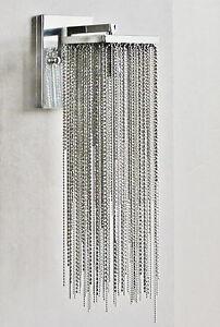Nic Duysens nic duysens wandlampe lampe designlampe mit perlen silber | ebay