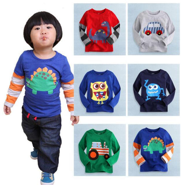 "NWT Vaenait Toddler Kids Boy Unisex Round Neck Top T-Shirts ""Cool T-shirts Boy """