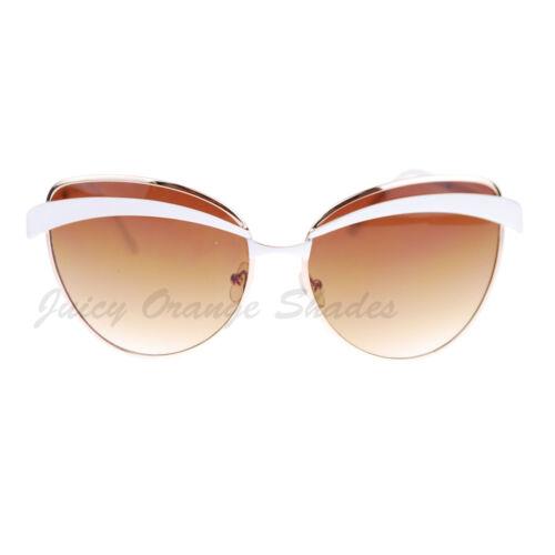 Womens Celebrity Fashion Sunglasses Metal Butterfly Designer Frame