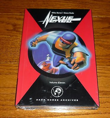 Nexus Archives Volume 11 SEALED Dark Horse hardcover book Steve Rude Mike Baron