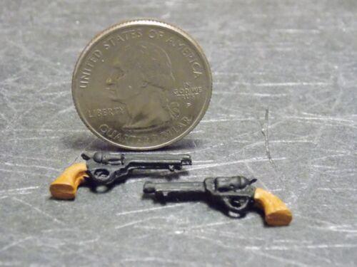 Dollhouse Miniature Metal Western Guns Pistols 1:12 scale Z124 Dollys Gallery