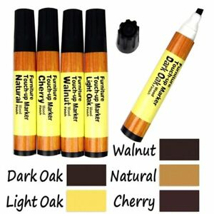 1-X-5-Color-Wood-Floor-Furniture-amp-Woodwork-Scratch-Cover-Touch-Up-Pens-New