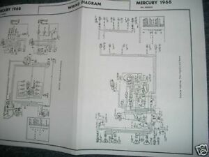 [DIAGRAM_09CH]  1966 MERCURY MONTCLAIR PARK LANE MONTEREY WIRING DIAGRAM | eBay | 1966 Mercruiser Wiring Schematics |  | eBay
