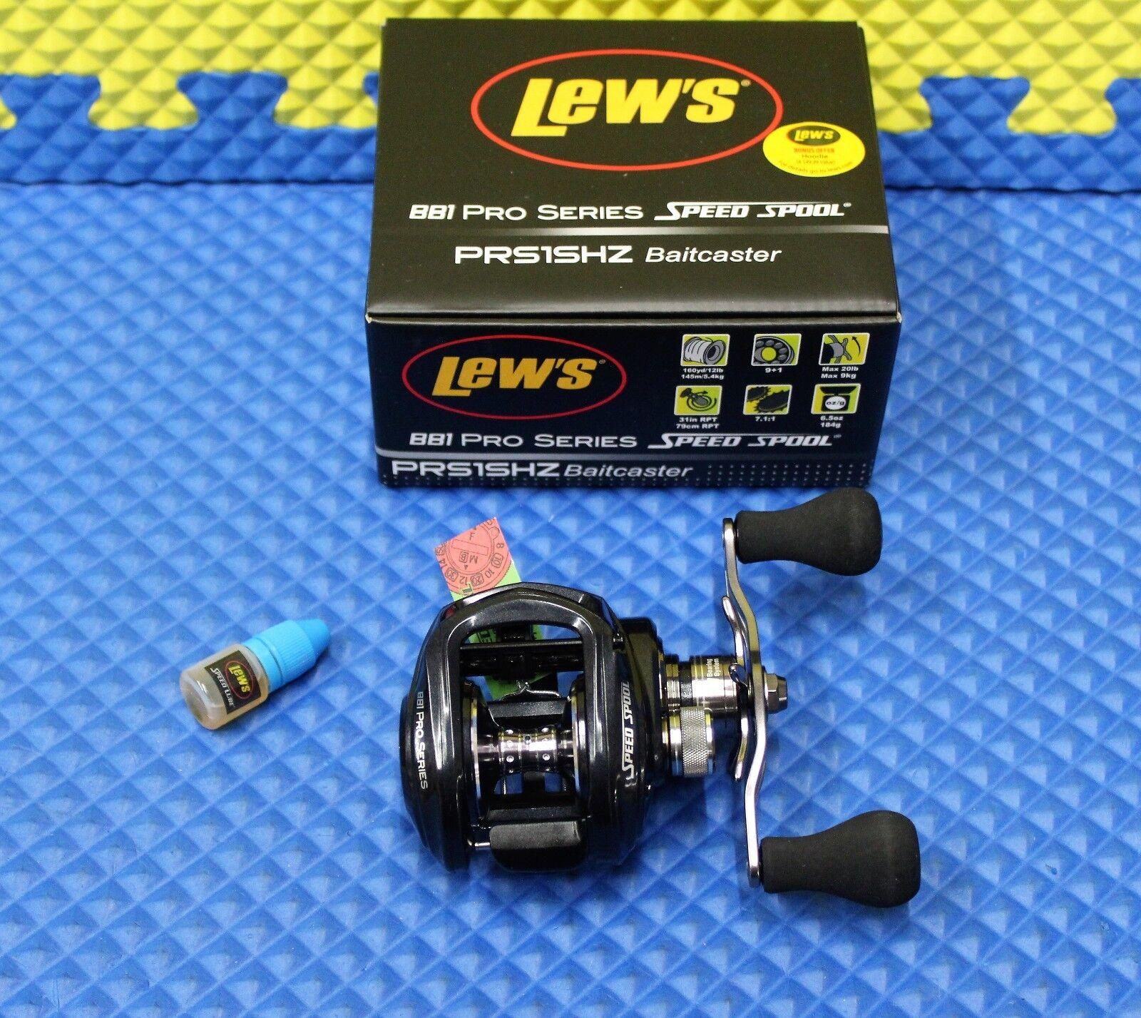 Lew's BB1 Pro Series Speed Spool Baitcaster PRS1SHZ