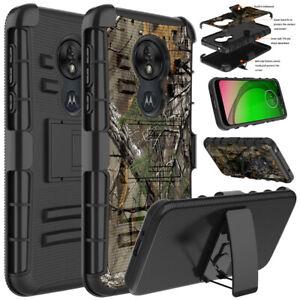 For-T-Mobile-Revvlry-Case-Rugged-Armor-Hybrid-Shockproof-Stand-Cover-amp-Belt-Clip