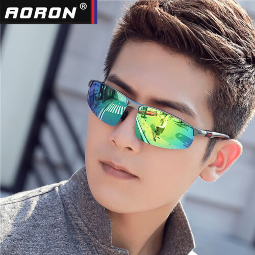 Men/'s Aluminum Polarized Driving Sunglasses Sports Mirrored Sun Glasses Eyewear