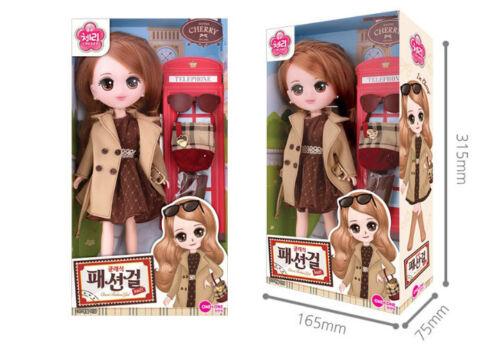 One & One Oh My School Classic Fashion Girl Cherry Dolls Girl Kid Toy X-mas Gift