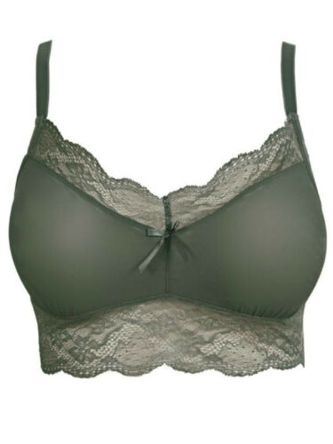 Freya Fancies Bralette Bra 1010 Non Wired Non Padded Soft Cup Lace Lingerie