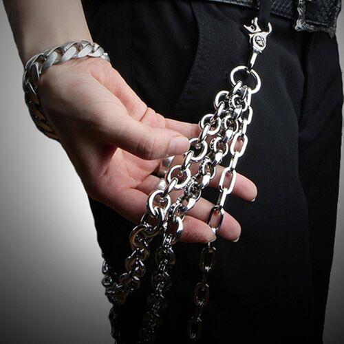 Guntwo Korean Mens Jewelry Wallet Chains Biker Hip Hop Triple Chain C2228 US