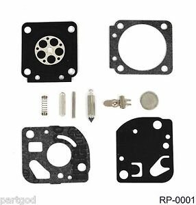 carburetor kit for zama rb 23 compatible with fuel containing up to 25 ethanol ebay. Black Bedroom Furniture Sets. Home Design Ideas