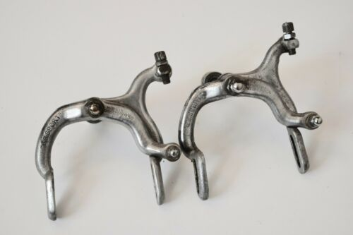 1950s GB SPORT HIDUMINIUM VINTAGE FRONT & REAR ROAD BICYCLE BRAKE CALIPER SET