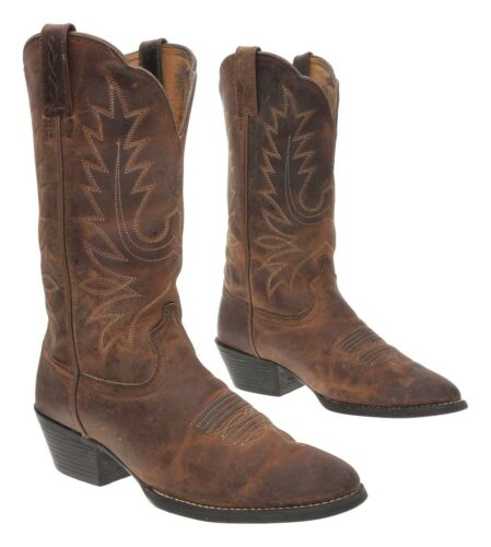 ARIAT Cowboy Boot 6.5 C Womens Oiled Leather Weste
