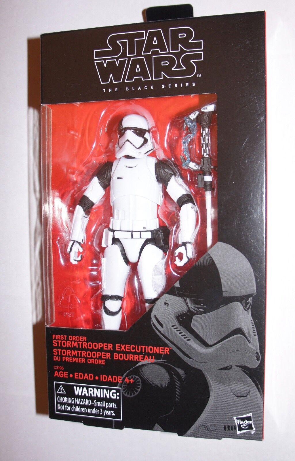 "Star Wars The Black Series de premier ordre Stormtrooper bourreau 3.75/"" Last Jedi"