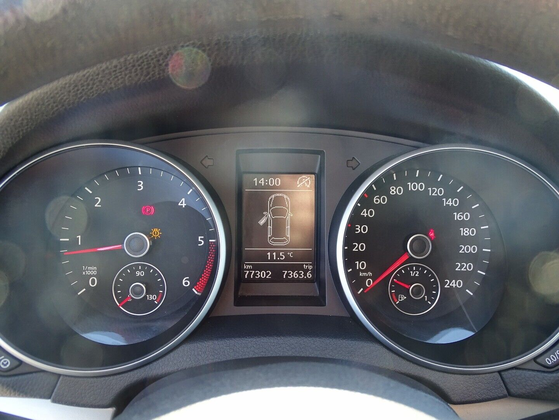 VW Golf VI 1,6 TDi 105 BlueMotion - billede 10