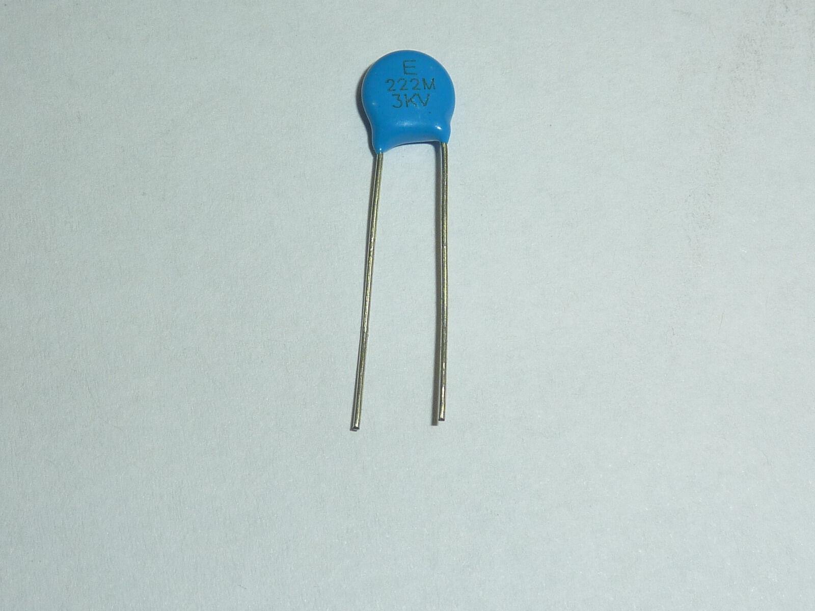 101~223 0.1~22nf 30pcs High Voltage Ceramic Disc Capacitor 1000~3000V