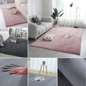 Details Zu Modern Teppich Gross Faux Kaninchenfell Teppich Rechteck Sofa Stuhl Zimmer Dekor