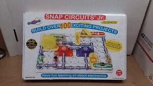 Electronic-Snap-Circuts-Jr-Building-Science-Set-Kit-Model-SC-100-Complete-Set