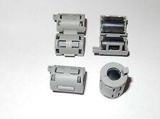 4 X 7mm FERRITE CORE - FERROUS RING CHOKE-CLIP ON NOISE FILTER-EMI & RFI