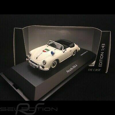 1:43 Schuco Porsche 356a convertible Police