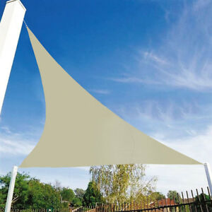 Schatten-Segel-Dreieck-wasserdicht-Sonne-Vordach-Markise-Garten-90-UV-Block-U