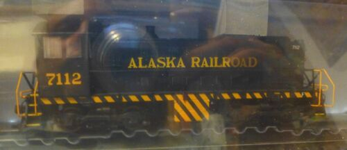 Atlas HO #10001887 Alaska Railroad Alco S2 Rd #7112 DCC Ready w//NMRA 8-Pin Plug