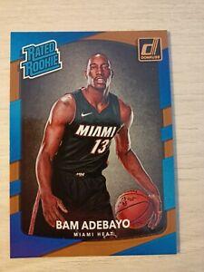 Bam Adebayo Rookie Card 🔥 Miami Heat NBA 2017 PANINI DONRUSS #187