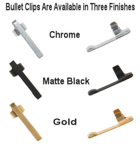 Fisher Space Pens #CCL Bullet Series Chrome Pocket Clip