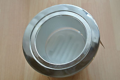 10 x LARGE-LED-Downlight for GX53-white//chrome R80 size 115mm cutout