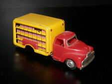 Vintage Coca Cola Friction Power Delivery Truck - Cragstan- 1950's Coke