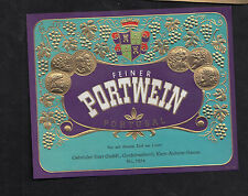 Ancienne étiquette  Allemagne BN9474 Portugal Portwein   Vin  années 50