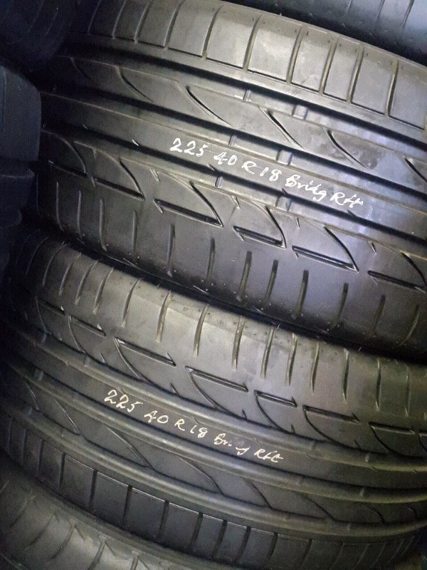 225/40/18 Bridgestone runflat