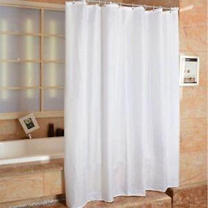 DUSCHVORHANG TEXTIL WANNENVORHANG BADEWANNENVORHANG WASSERDICHT Shower Duschen