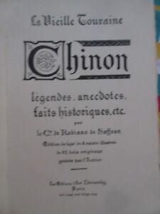 CHINON-de-et-illustre-de-82-bois-par-Cte-De-Robiano-de-Saffran-EX-sur-JAPON-1925