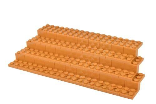 FLESH LEGO Display Stand for minifigures Genuine Lego Parts # DARK TAN