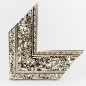 "Wooden Picture Frame Baroque "" aretium "" 95x15 or 15X95 Anti Reflex Acryllic"
