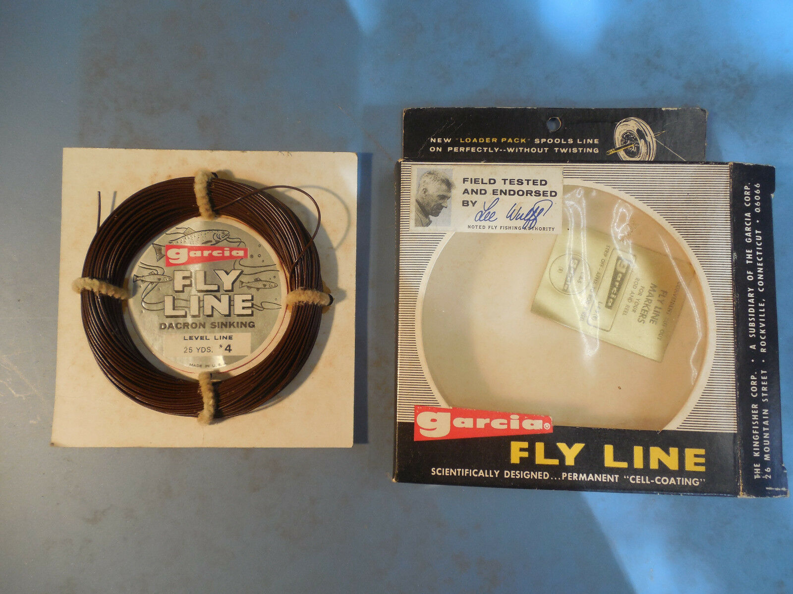 VINTAGE GARCIA LEE WULFF FLY LINE L4S FLY FISHING LINE TROUT