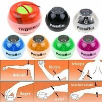 Led Force Ball Power Gyroscope Wrist Ball Arm Exercise Ball W/ Counter Muscle