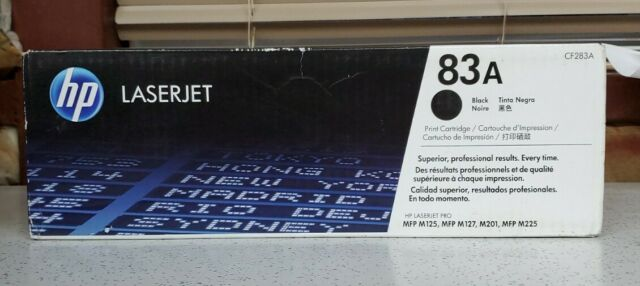 HP CF283A Black Toner Cartridge OEM FACTORY SEALED NEVER OPENED*See Description*