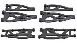 New Arrma Outcast Kraton Talion RPM Suspension Arms A-Arms Set Front Rear Black