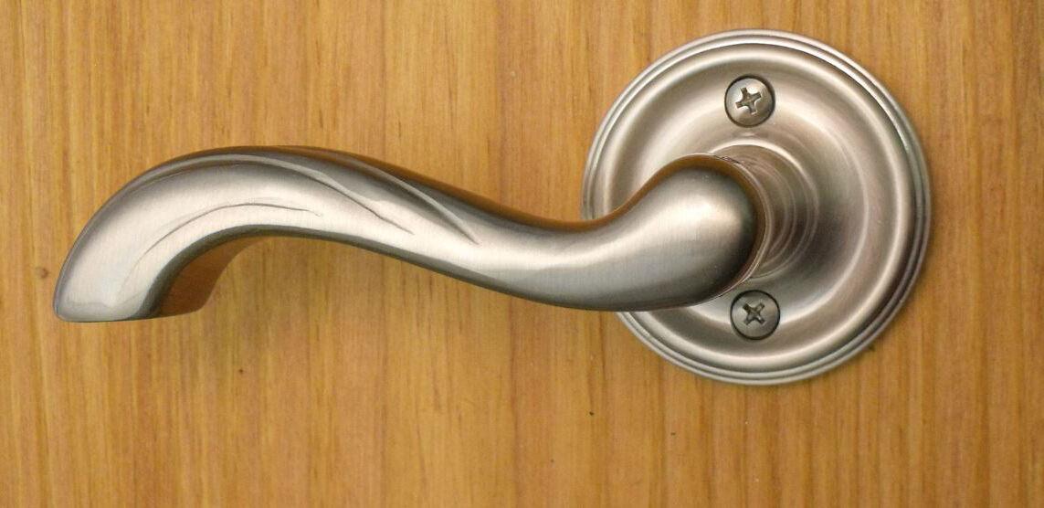 FPL Marseille Half Dummy Lever for Closet Doors or Inactive Double Doors