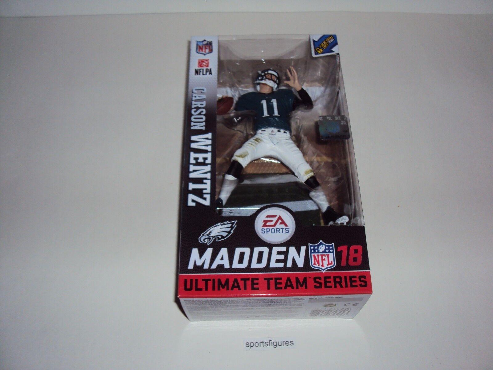 2017 McFarlane ESA Sports Madden NFL 18 Carson Wentz  Philadelphia Eagles CHASE
