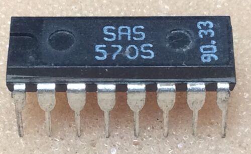 1 pc SAS570S    Sensortaster  Quad Touch Control  DIP16  #BP