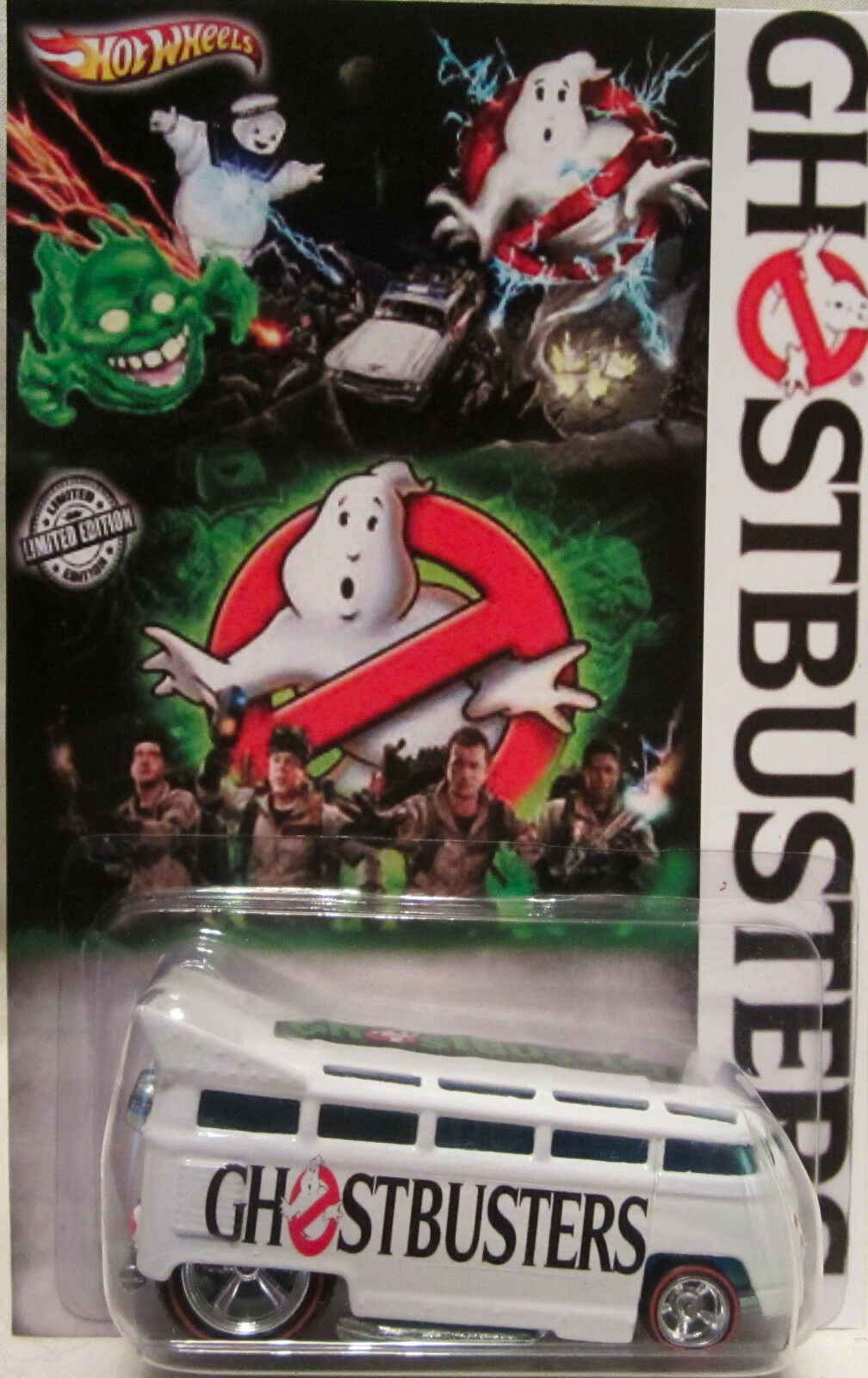 Hot Wheels CUSTOM VOLKSWAGEN DRAG BUS  Ghostbusters  Real Riders Limited